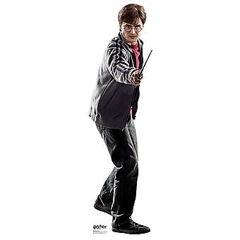 Harry Potter holding wand Mini Cardboard Cutout / Standee / Standup