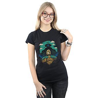 Vincent Trinidad kvinnors Sky Castle automat T-Shirt