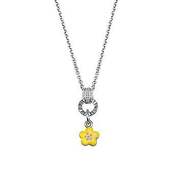 Scout Kinder Halskette Kette Silber Blume gelb Girls Mädchen 261102200