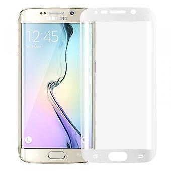 Ibrido TPU curvo serbatoio bianco pellicola diapositiva per bordo Samsung Galaxy S6 plus G928 F