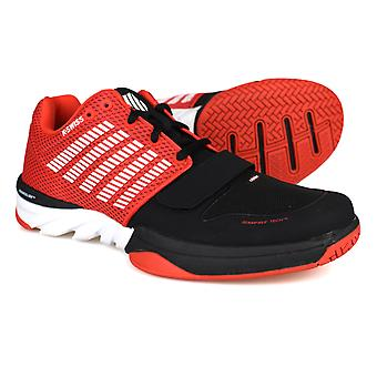 K-Swiss X Court Red / Black Mens Trainers