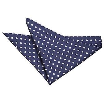 Mouchoir de poche Navy Blue Polka Dot