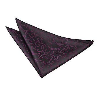 Zwart / paars Swirl zak plein
