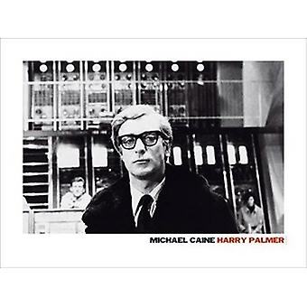 Michael Caine Harry Palmer Poster Print (32 x 24)