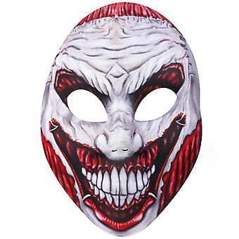 Horror masker verscheurd van ogen en mond Halloween horror, Monster