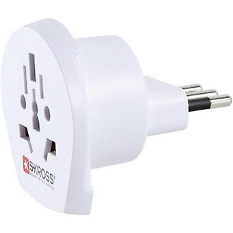 Skross 1.500223 Travel adapter World to Italy
