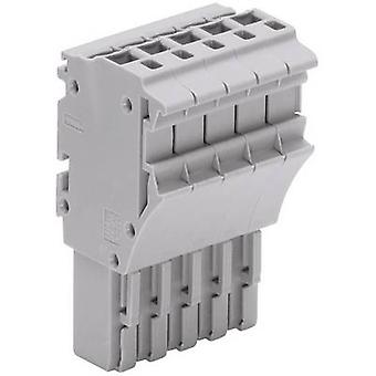 WAGO 2022-115 1 Conductor Female Multipoint Connector Series 2022 Grey