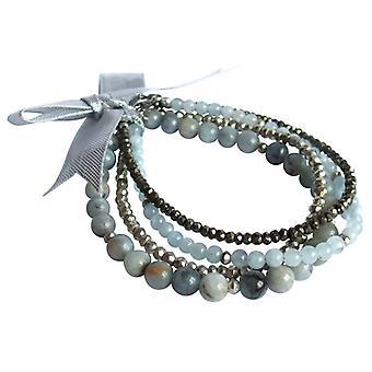 Pedras preciosas pulseiras pulseira conjunto pedras preciosas pulseira conjunto azul-marinho pirita