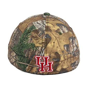 Houston Cougars NCAA SCHLEPPTAU Real Tree Camo Stretch ausgestattet Hut