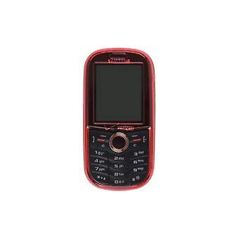 Tvådelad Snap på fallet för Samsung U450 intensitet, röd
