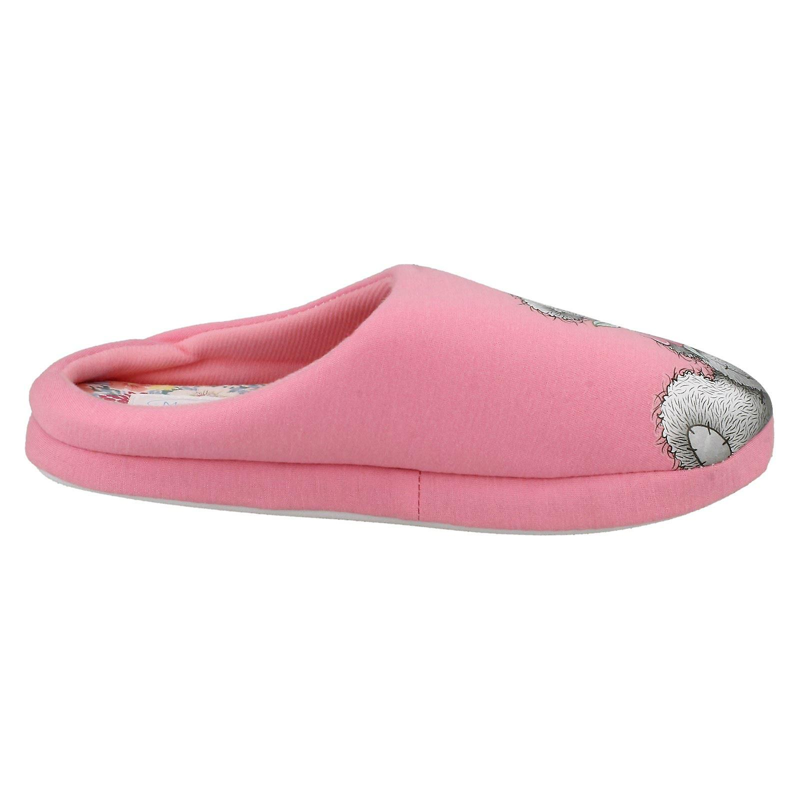 Me To You Ladies Slippers Tatty Teddy Rose