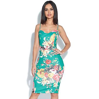 Totalmente Tropical vestido Bodycon