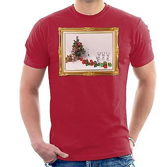 Originele Stormtrooper kerstboom dood dia T-Shirt voor mannen