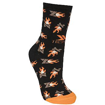 Trespass Unisex Flame Novelty Socks