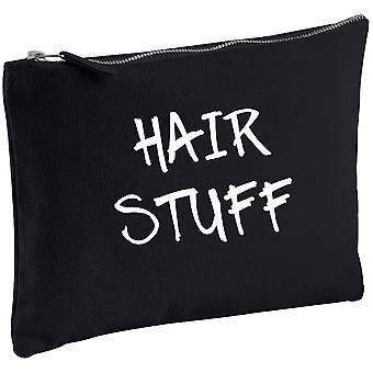 Włosów rzeczy Black Canvas makijaż torba