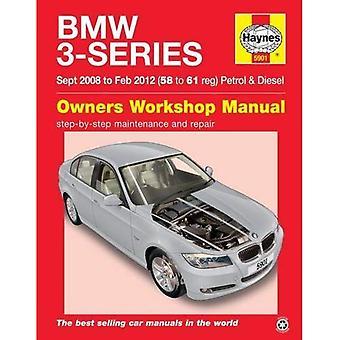 BMW 3-serie benzine & Diesel Owners Workshop Manual: 08-12