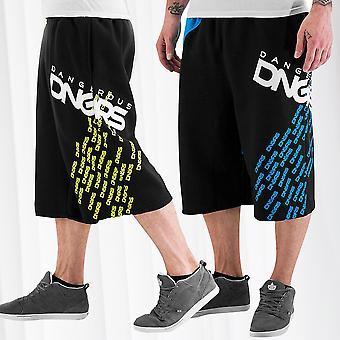 Men's Shorts DNGRS Sweat Pants Classic Sport Jogging Pants Fitness Baggy Bermuda