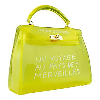 Transparent bag-translucent yellow