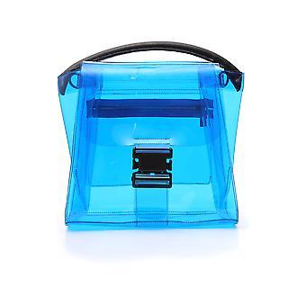 Zucca Zu97ag17412 Women's Light Blue Plastic Handbag
