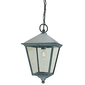 Turin utendørs Grande kjeden Lantern VERDI - Elstead belysning Tg8 VERDI