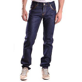 Andrew Mackenzie Ezbc245001 Uomini's Blue Denim Jeans