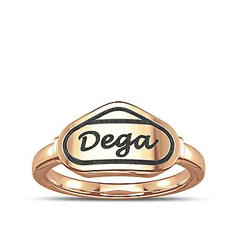 Talladega Ring In 14K Rose Gold Design by BIXLER