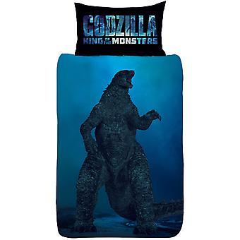 Godzilla vs Ghidorah enkele Dekbedovertrek set