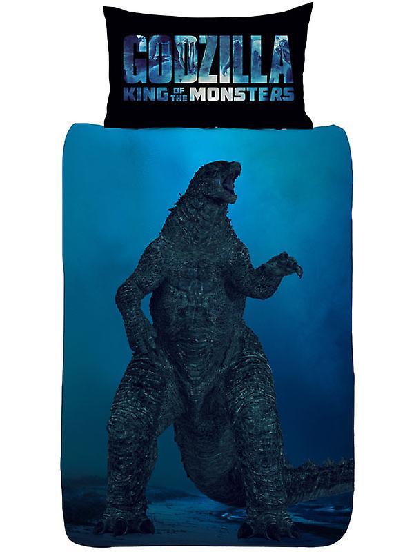 Godzilla Vs Ghidorah Single Duvet Cover Set