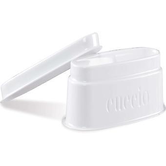 Cuccio Powder Polish Dipping Tray - (3 X White Dipping Trays) (55073)