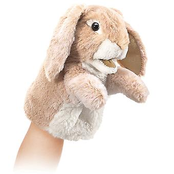 Hand Puppet - Folkmanis - Little Rabbit Lop New Animals Soft Doll Plush Toys 2944