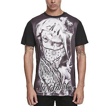 Mister Tee Shirt - La Familia Sublimation Black