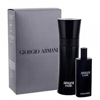 Giorgio Armani Código Regalo Set 75ml EDT + 15ml EDT