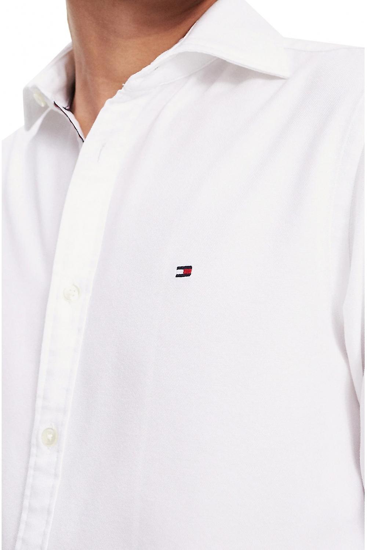 Tommy Hilfiger Slim Fit  Stretch Cotton Shirt Bright White
