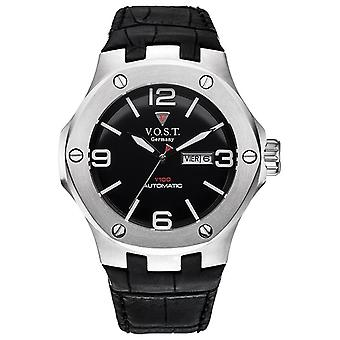 V.O.S.T. Germany V 100.015 Steel automatic men's Watch 44mm
