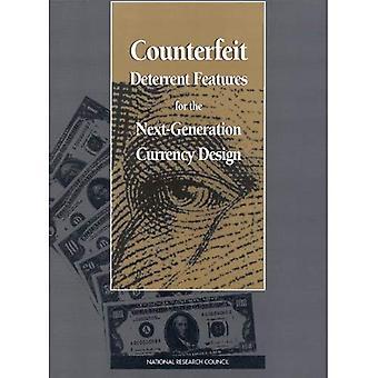 Características de disuasión falsificadas para el diseño de moneda de próxima generación