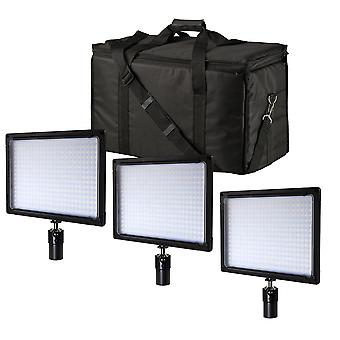 BRESSER SH-360 LUCES de Superficie LED 3 Set