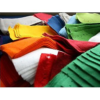 Zderzaka 500g torba akryl rozmiar resztki dla rzemiosła   Craft rozmiar arkuszy & Rolls