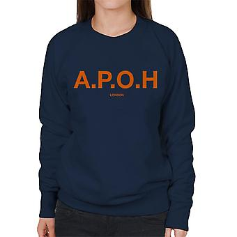 A.P.O.H Classic Orange Logo Women's Sweatshirt