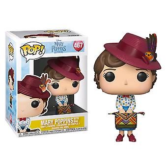 Mary Poppins Returns Mary Poppins with Bag Pop! Vinyl