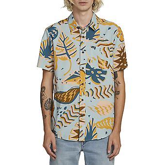 Volcom schroot shirt met korte mouwen in waterkristallen