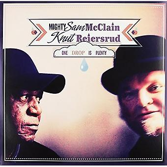 Knut Reiersrud & Mighty Sam McClain - One Drop Is overvloed [Vinyl] USA importeren