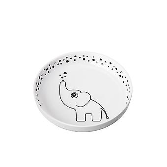 YummyPlus plate Done by Deer Elphee Grey
