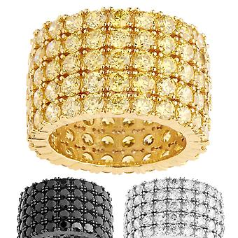 Iced Out Bling Micro Pave Ring - FAT 360 ETERNITY