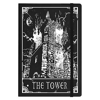Deadly Tarot The Tower A5 Hard Cover Notebook