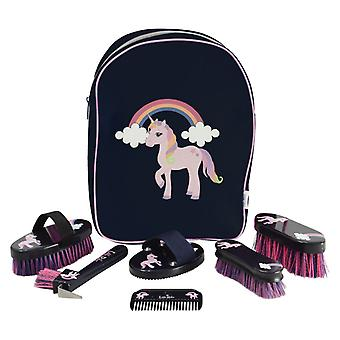 Little Rider Little Unicorn Complete Grooming Kit Rucksack