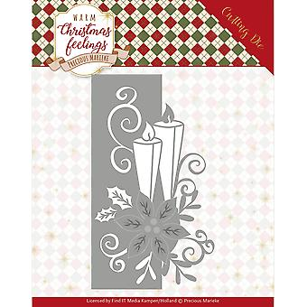 Find It Trading Precious Marieke Die-Candle Edge, Warm Christmas Feelings