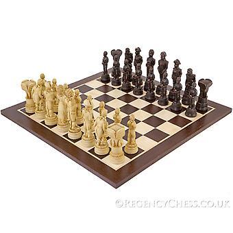 Taistelu Trafalgar Wenge shakkinappulat