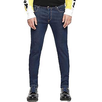 Diesel Sleenker Mens Skinny Jeans 084UL  Midwash Blue