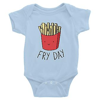 365 Printing Fry päivä vauva Bodysuit lahja taivas sininen vauva syntymä päivä vauva Jumpsuit