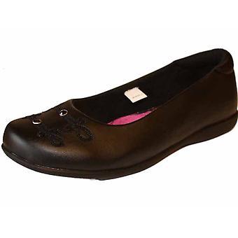 Piger ALEXIS tilbage til skolen flad hæl slip på sko